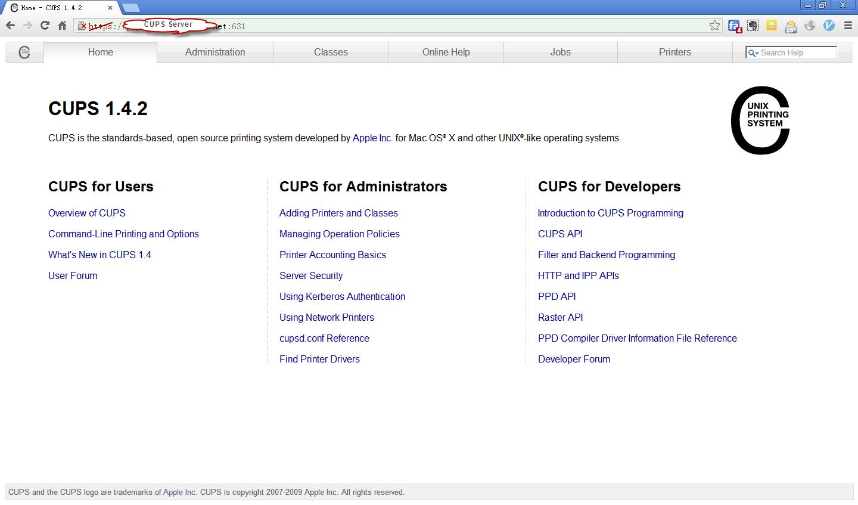 CUPS_Server